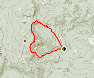 Mount Cardigan and Back 80 Loop Trail Map