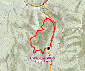Cannon Mountain Loop Trail Map
