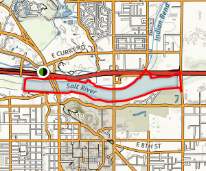 Tempe Town Lake Trail Map