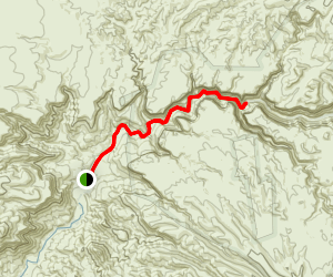 Aravaipa Canyon Trail Map