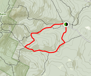 Woodland Trail, Clark Trail, and Holt Trail Loop Map