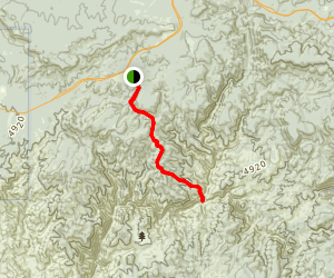 Hells Gate Trail Map