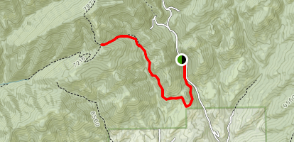 Emigration Canyon Miners Trail Map