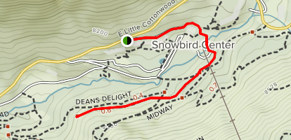 Barrier Free Trail Map