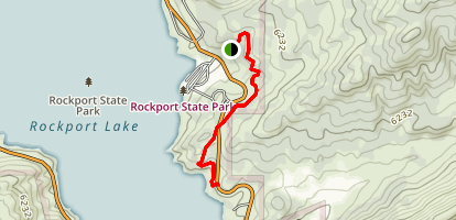 Rockport Lake Trail Map