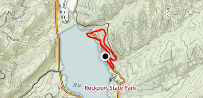 Lake View Trail Loop Map