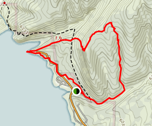 2nd Canyon & Cedar Cove Ridge Loop Map