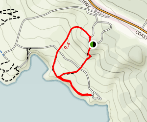 Salt Point Campground Coast Loop Map