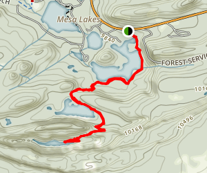 Lost Lake Hike Map