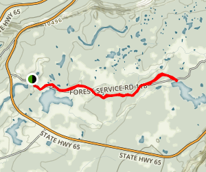 Scales Lake  Map