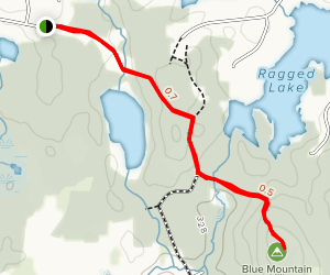 Blue Mountain Summit Map
