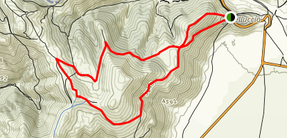 Castellugio Roundwalk Trail Map