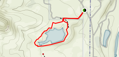 Sunrise Dam Trail Map