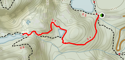 Dream Lake Trail Map