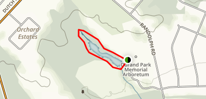 Durand Park Trail Map