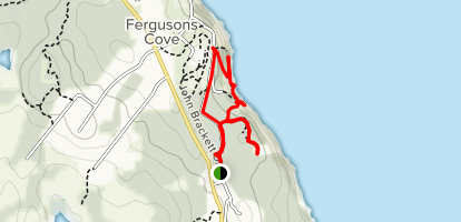 York Redoubt National Historic Site Trail Map