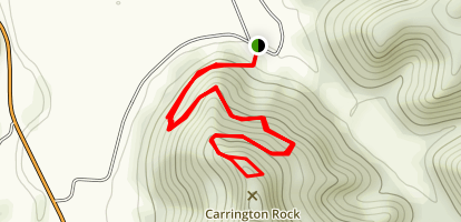 Carrington Rock Trail Map