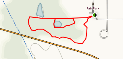 Fair Park Trail Map