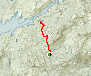 Sword Lake Trail Map