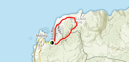 Maillag Loop Trail Map