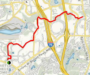 Noonday Creek Trail Map