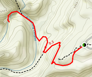 Kachina Bridge Trail Map