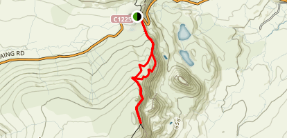 Bioda Buidhe Summit Map