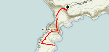 Neist Point Trail Map