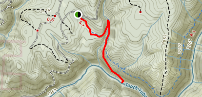 South Yuba River Day Hike Map