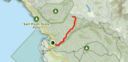 Stump Beach Trail Map