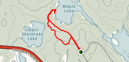 Maple Lake Map