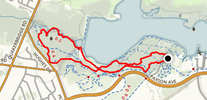 Vannest Wildlife Trails Map