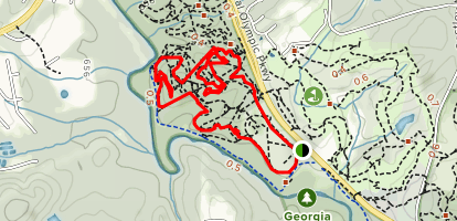 Horse Park Loop Trail Map