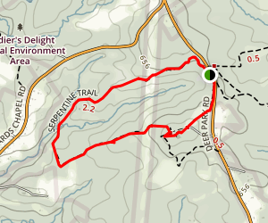 Serpentine Trail Map