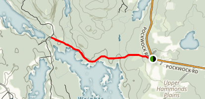 Wrights Lake Trail Map