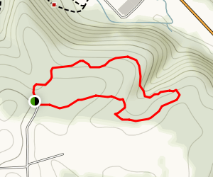 Brady's Run Loop Map