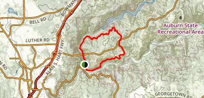 Confluence and Clementine Trail Loop Map
