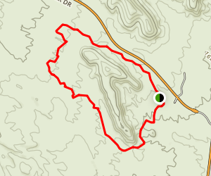 McDowell Competitive MTB Track Sport Loop Map