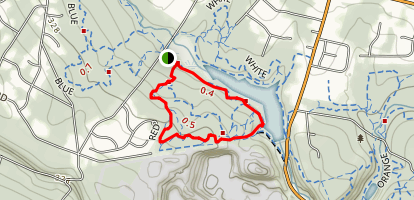 Washington Valley Red Trail Map
