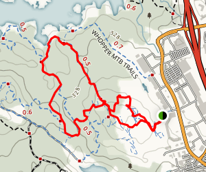 Whopper MTB Trails Map