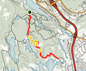 Birch Trail  Map