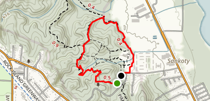 Deer Run Trail Loop Map