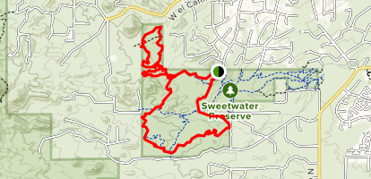 Sweetwater Preserve Double Loop Map