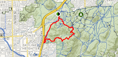 Perl Charles and Voaz Loop Trail Map