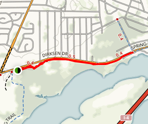 Spring-to-Spring Trail to River Village Drive Map