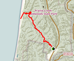James Irvine Trail Map
