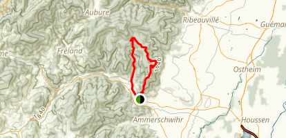 Kaysersberg Loop Map