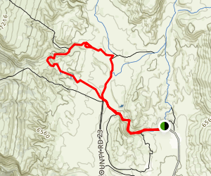 K-Lynn Cameron and Ruby Wash Loop Trail Map