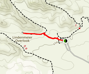 Lindenmeir Overlook Trail Map