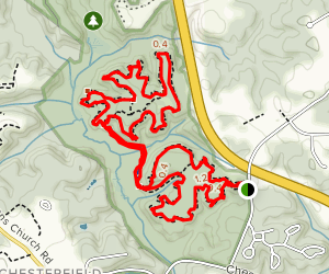 Bacon Ridge Trail Map